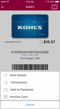 how to add a gift card to apple wallet